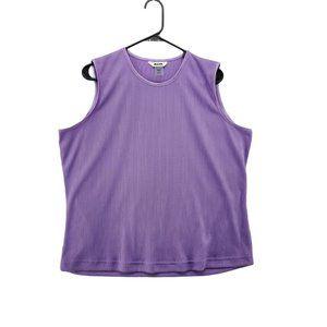 ARIA Women's Violet Tank Top Size X-Large